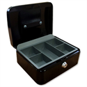 5 Star Cash Box 12 Inch W300xD240xH90mm Anthracite Black