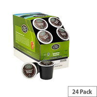Green Mountain Coffee Fair Trade Certified Organic Sumatran Reserve Pack 24 K-Cup pods for Keurig K140 & K150 93-07009