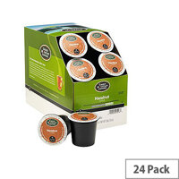 Green Mountain Coffee Hazelnut Pack 24 K-Cup pods for Keurig K140 & K150 93-07016