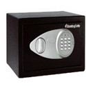 Masterlock X041 Small Security Safe Electronic Lock W290xD264xH194mm 11.6 Litre Ref X041