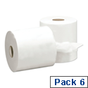 5 Star Centre-feed Hand Towels Refill 1-Ply 300m White [Pack 6]