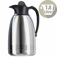 Addis Diplomat Vacuum Jug 1.8 Litre Stainless Steel/Black 629181600