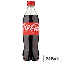 Coca-Cola 500ml Bottle (Pack 24) 100182