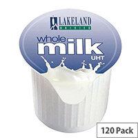 Lakeland Full Fat Milk 14ml Pots UHT (Pack of 120)