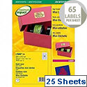 Avery L7680 Address Label Mini Gold (1625 Labels)