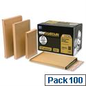 gusset envelopes pack 100