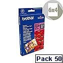 "Brother 6x4"" Glossy Premium Plus Photo Paper (Pack of 50)"