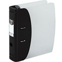 Hermes Lever Arch File Heavy Duty A4 80mm Capacity Black 832001