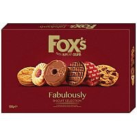 Fox's Fabulously Biscuit Selection 300g (Pack of 1) A07926