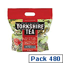 Yorkshire Tea Bags Soft Water Pack 480