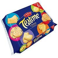 Crawford's Teatime Assorted Biscuits 275g (Pack of 1) A07549