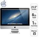 "Apple iMac 21.5"" Quad-Core i5 2.7 GHz 8GB 1TB"