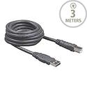 Belkin Pro Series Hi-Speed Cable USB 2.0 A-Type / USB 2.0 B-Type Male-Male 3m Grey