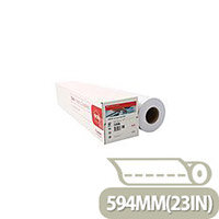 Canon Red Label 97003495 Plain Uncoated 75gsm Plotter Paper Pack of 2 Rolls 594mmx175m