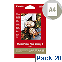 Canon A4 Glossy Photo Paper 260gsm (Pack of 20)
