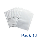 Durable Pockets for Table Top Presenter Pack of 10 A4 Landscape 8566