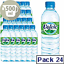 Volvic Mineral Still Water 500ml Bottle Pack 24