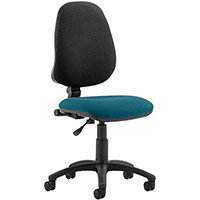 Eclipse I Lever Task Operator Office Chair Kingfisher Green Seat
