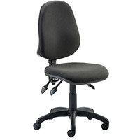 Eclipse III Lever Task Operator Office Chair Black