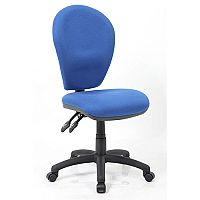 Solar II Blue Task Operator Office Chair