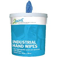EcoTech Industrial Hand Wipes 300 x 250mm (Pack of 150) EBMH150