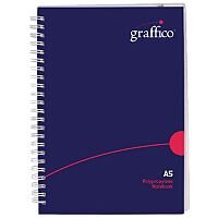 Graffico Twin Wire Board Cover A5 Notebook 160 Pages