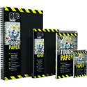 A4 Nuco World Tradie Notebook  Black/Yellow Each