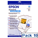 Epson Cool Peel Iron-On Transfer Paper Pack of 10