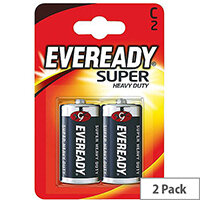 Eveready Battery Silver C Pk2 R14B2UP