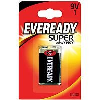 Eveready Battery Silver 9V 6F22BIUP