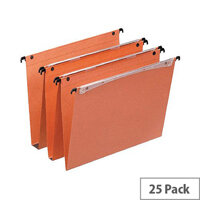 Esselte Orgarex Vertical Suspension File V-Bottom A4 Pack 25