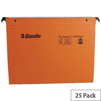 Esselte Orgarex 30mm Vertical Suspension File A4 Pack 25