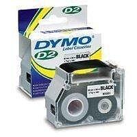 Dymo Yellow 6000 D2 Label Tape 19mmx10m