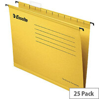Esselte Yellow Pendaflex Suspension File A4 Pack of 25