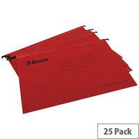 Esselte Red Pendaflex Suspension File A4 Pack of 25