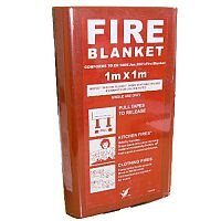 Fire Blanket Fibresafe in Hard Case 1mx1m 1021006