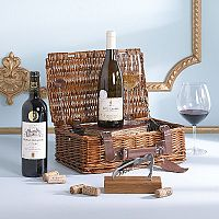 A Wine Lovers Gift Basket