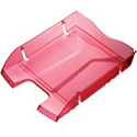 Helit PET Recycled Letter Tray Red H2363520