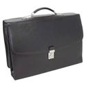 Monolith Deluxe Laptop Case Black Briefcase