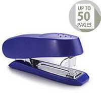Rapesco Luna 727 Half Strip Stapler Blue
