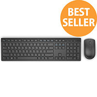Dell KM636 Keyboard & Mouse USB Wireless Bluetooth Black USB Wireless Bluetooth Optical