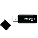 Integral Black USB 2.0 Flash Drive 32GB INFD32GBBLK