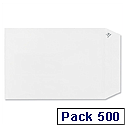 Plus Fabric C5 Envelopes Pocket Peel and Seal White Pack 500