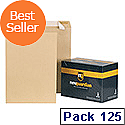 New Guardian C3 (A3) Heavyweight Envelopes Peel/Seal Manilla Pack125 C27013