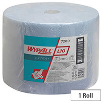 Wypall L20 Large Roll 1000 Sheets Blue (Pack of 1) 7200