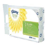 Kleenex Ultra Toilet Tissue Bulk Pack 2-Ply White 200 Sheets (Pack of 8) 8488