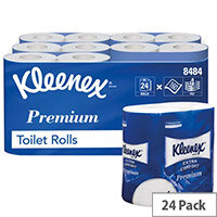 Kleenex Quilted Toilet Rolls (Pack of 24) 8484