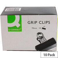 Q-Connect Grip Clip 70mm (Pack of 10)