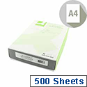 A4 100gsm Wove Antique Vellum Premium Business Paper 500 Sheets Q-Connect