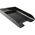 Q-Connect Executive Letter Tray Black